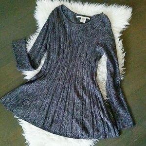Max Studio long sleeve knit dress